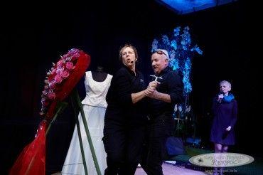 Gala Ślubna 2015 r. - Gościem specjalnym wtym dniu była znana ześwietnego poczucia humoru Evi Gerull, któraprzybyła zeswym życiowym izawodowym partnerem- Tadeuszem.
