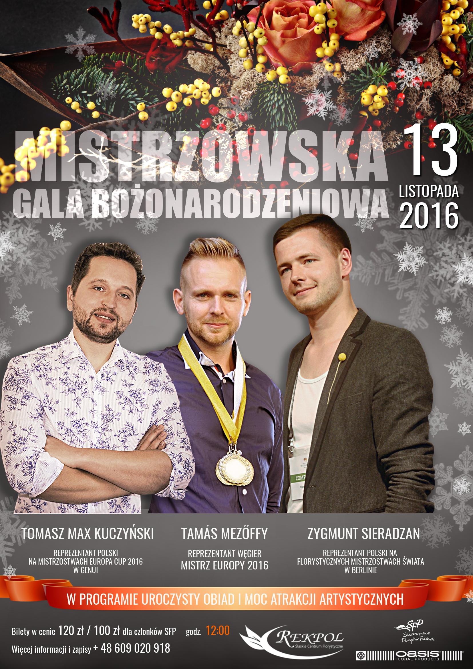 Mistrzowska Gala Bożonarodzeniowa 2016