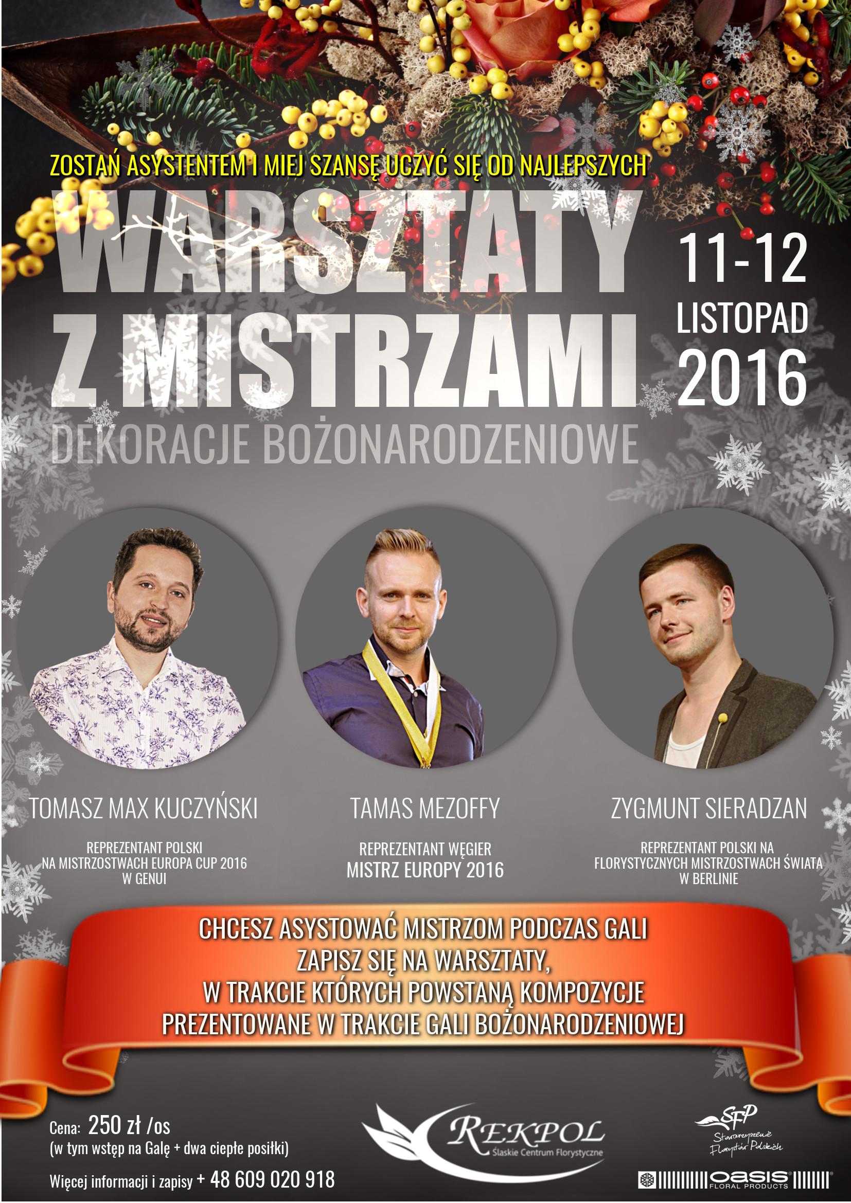 Warsztaty zMistrzami | Gala Bożonarodzeniowa 2016